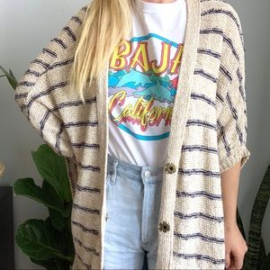 Free People oversized cardigan sweater s small